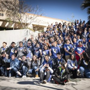 Students from across the region gather for the 2019 Regional Mayors Cyber Cup competition.